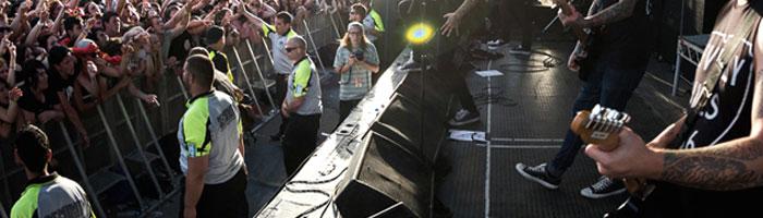 empresa de seguridad en eventos conciertos madrid