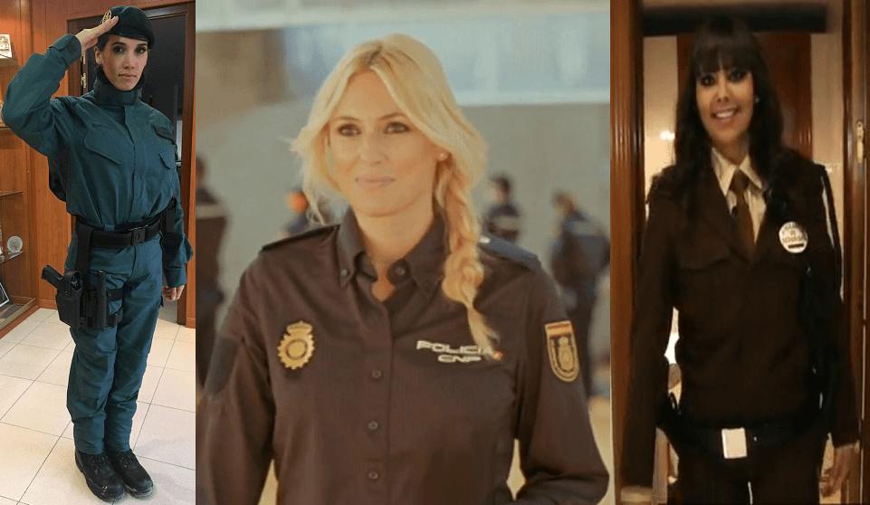 Estrellas famosas en uniforme