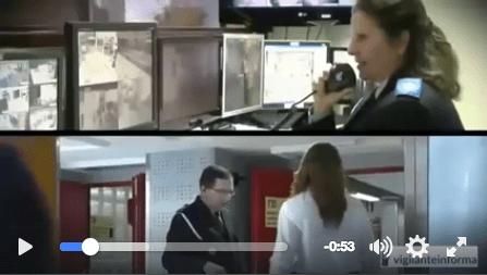 Video en qué consiste el trabajo de vigilante de seguridad
