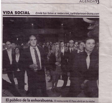 Noticia la tribuna Vettonia seguridad