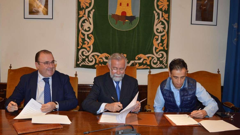 Vettonia y Asergrup Seguridad realizarán el octavo mural cerámico de Talavera